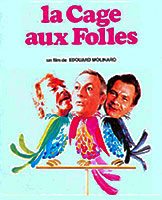 La Cage Aux Folles The Birdcage poster