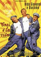 Cosi E La Vita poster