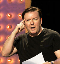 Ricky Gervais: Out of England DVD