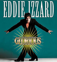 Eddie Izzard: Glorious DVD