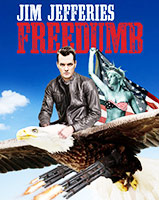 Jim Jefferies - Freedumb poster