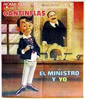 El ministro y yo poster