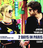 2 Days in Paris DVD