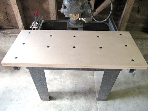 Building A Mr Sawdust Table For A Dewalt Radial Arm Saw Mdf Unistrut Variation
