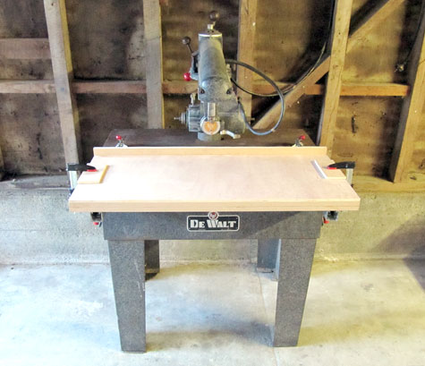 Merveilleux Dewalt Radial Arm Saw